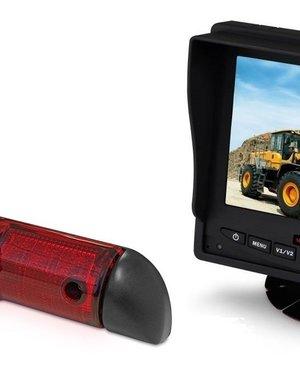 RVS-systemen Peugeot Boxer (2006-heden) Remlichtcamera Monitor 5 inch RVM-560