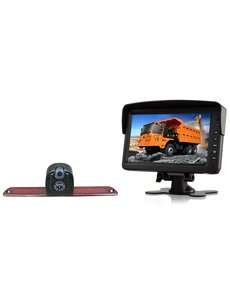 RVS-systemen VW Crafter (2007- heden) Dubbele Camera  Monitor 7 inch RVM-760