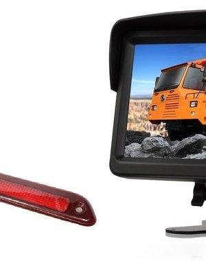 RVS-systemen VW Crafter Laag (2016-heden) Remlichtcamera  Monitor 7 inch RVM-760