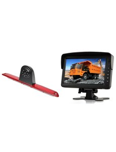 RVS-systemen VW Crafter Hoog (2007- heden)  Remlichtcamera  Monitor 7 inch RVM-760
