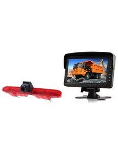 RVS-systemen Peugeot Partner (2008-2016) Remlichtcamera  Monitor 7 inch RVM-760