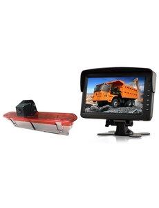 RVS-systemen Opel Combo (2011–2017) Remlichtcamera  Monitor 7 inch RVM-760