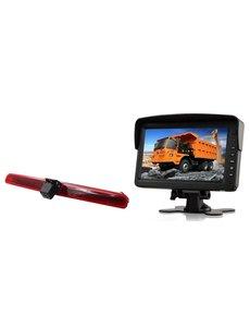RVS-systemen VW Transporter T5 Klep (2003-2015) Remlichtcamera  Monitor 7 inch RVM-760