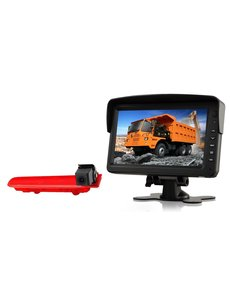 RVS-systemen VW Transporter T5 (2010-heden) Remlichtcamera  Monitor 7 inch RVM-760