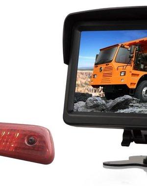 RVS-systemen Citroen Jumpy (2007-2016 ) Remlichtcamera Monitor 7 inch RVM-760