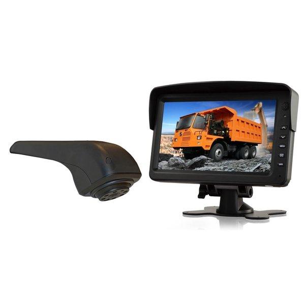 RVS-systemen VW Crafter Originele (2017-heden) Remlichtcamera Achteruitrijcamera Monitor 7 inch RVM-760