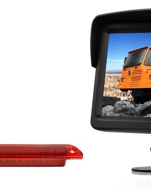 RVS-systemen VW Crafter Led (2007-heden) Remlichtcamera Monitor 7 inch RVM-760