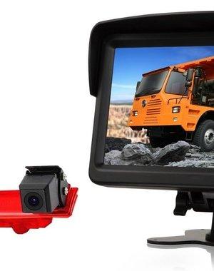 RVS-systemen VW Transporter T6 (2010-heden) Remlichtcamera Monitor 7 inch RVM-760