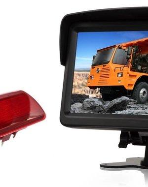 RVS-systemen Renault Trafic (2014-heden) Remlichtcamera Monitor 7 inch RVM-760