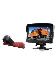 RVS-systemen Peugeot Expert (2007-2016) Remlichtcamera Monitor 7 inch RVM-760