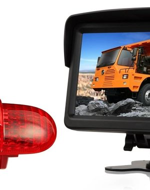 RVS-systemen Opel Combo  (2001 -2011) Remlichtcamera Monitor 7 inch RVM-760