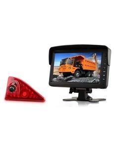 RVS-systemen Opel Movano (2010-heden) Remlichtcamera Monitor 7 inch RVM-760