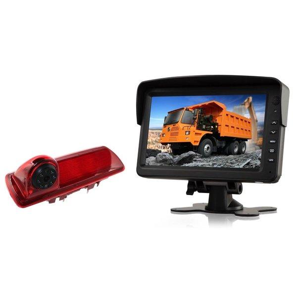 RVS-systemen Nissan  NV300 (2016-heden) Remlichtcamera Monitor 7 inch RVM-760