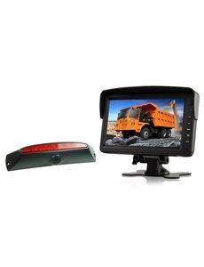 RVS-systemen IVECO Daily (2011-2014) Remlichtcamera Monitor 7 inch RVM-760
