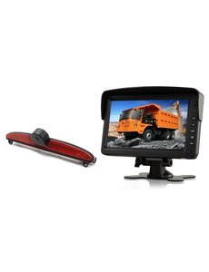 RVS-systemen IVECO Daily (2014 -2018) Remlichtcamera Monitor 7 inch RVM-760