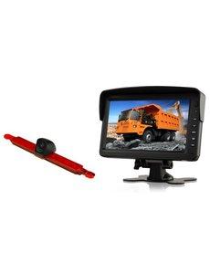 RVS-systemen Hella Enkele Achteruitrijcamera  Monitor 7 inch RVM-760