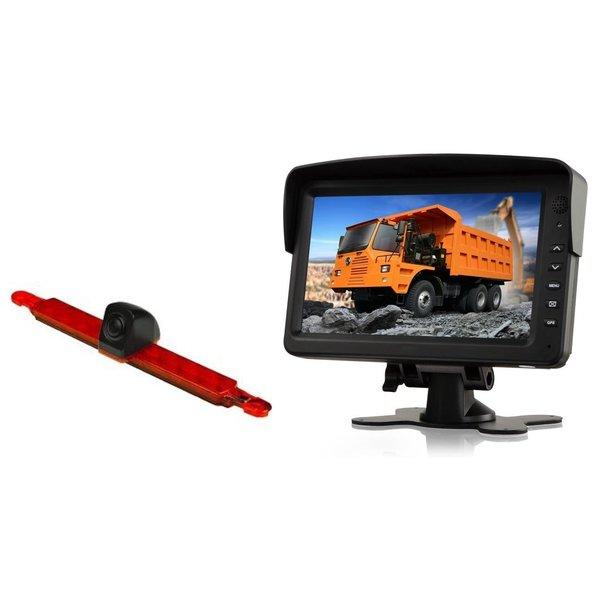 RVS-systemen Hella Achteruitrijcamera  Monitor 7 inch RVM-760