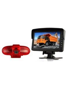 RVS-systemen Opel Vivaro (2001-2014) Remlichtcamera Monitor 7 inch RVM-760