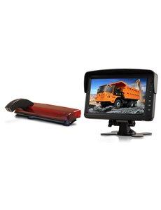 RVS-systemen Ford Transit Connect (2013-heden) Remlichtcamera Monitor 7 inch RVM-760