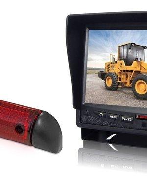 RVS-systemen Peugeot Boxer (2006-heden) Remlichtcamera Monitor 7 inch RVM-780