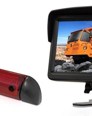 RVS-systemen Peugeot Boxer (2006-heden) Remlichtcamera Monitor 7 inch RVM-760