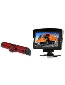 RVS-systemen Citroen Jumper (2006-heden) Remlichtcamera Monitor 7 inch RVM-760