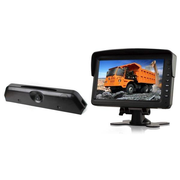 RVS-systemen Iveco Daily (2014-2018) Remlichtcamera Achteruitrijcamera Monitor 7 inch RVM-760