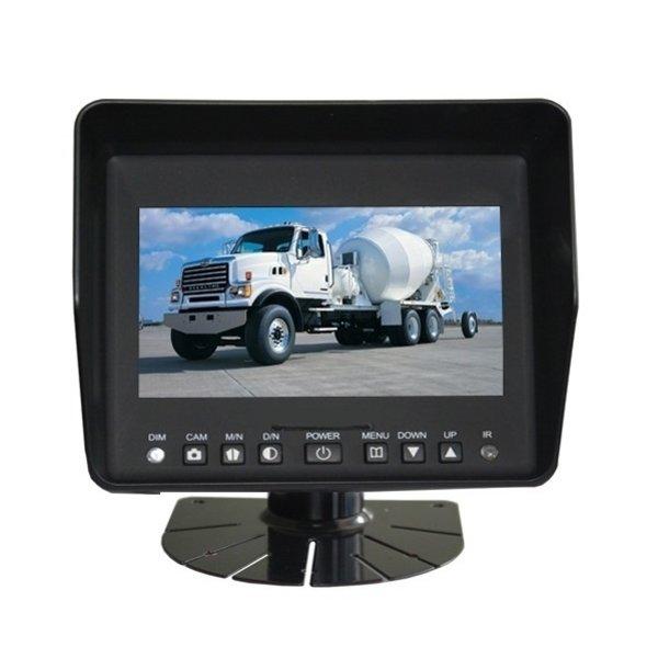 RVS-systemen Achteruitrijcamera Professionele Monitor 5 Inch RVB- 520