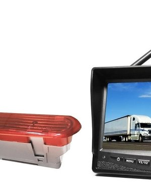 RVS-systemen Opel Combo (2011–2017) Draadloze set Monitor 7 inch RVM-708