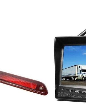 RVS-systemen VW Crafter Laag (2016-heden) Draadloze set Monitor 7 inch RVM-708