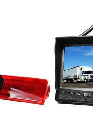 RVS-systemen VW Caddy (2008-2016) Draadloze set Monitor 7 inch RVM-708