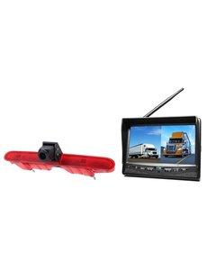 RVS-systemen Peugeot Partner (2008-2016) Draadloze set Monitor 7 inch RVM-708