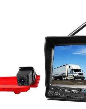 RVS-systemen VW Transporter T5 (2010-heden) Draadloze set Monitor 7 inch RVM-708