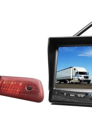 RVS-systemen Peugeot Expert (2007-2016) Draadloze set Monitor 7 inch RVM-708