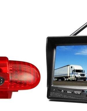 RVS-systemen Opel Vivaro (2001-2014) Draadloze set Monitor 7 inch RVM-708
