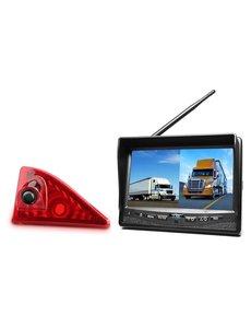 RVS-systemen Nissan NV400 (2010 -heden) Draadloze set Monitor 7 inch RVM-708