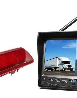 RVS-systemen Nissan  NV300 (2016-heden) Draadloze set Monitor 7 inch RVM-708