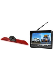 RVS-systemen Ford Transit  Custom Klep (2014-heden) Draadloze set Monitor 7 inch RVM-708
