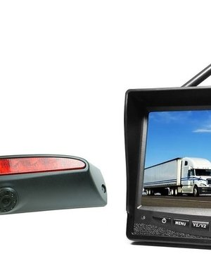 RVS-systemen IVECO Daily (2011-2014) Draadloze set Monitor 7 inch RVM-708