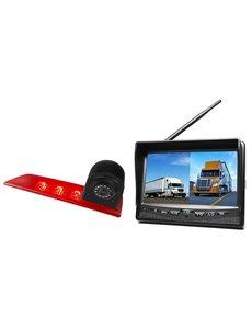 RVS-systemen Ford Transit Custom Led (2016-helden) Draadloze set Monitor 7 inch RVM-708
