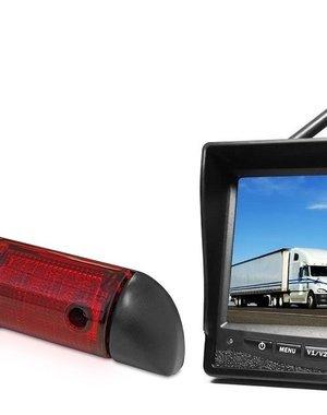 RVS-systemen Peugeot Boxer (2006-heden) Draadloze set Monitor 7 inch RVM-708