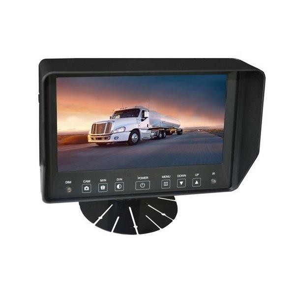 RVS-systemen Professionele Achteruitrijcamera Monitor 7 Inch RVB- 720