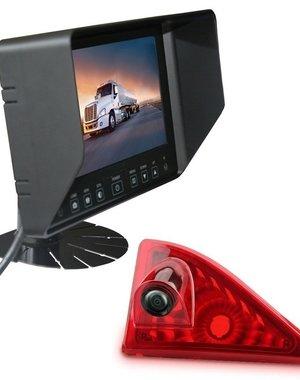 RVS-systemen Nissan NV400 (2010 -heden) Remlichtcamera Monitor 7 inch RVB-720