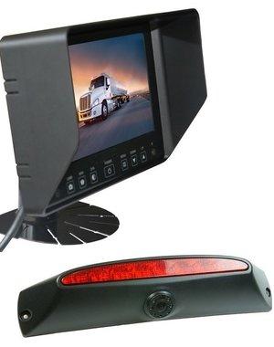 RVS-systemen IVECO Daily (2011-2014) Remlichtcamera Monitor 7 inch RVB-720