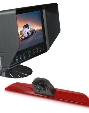 RVS-systemen Ford Transit  Custom Klep (2014-heden) Remlichtcamera Monitor 7 inch RVB-720