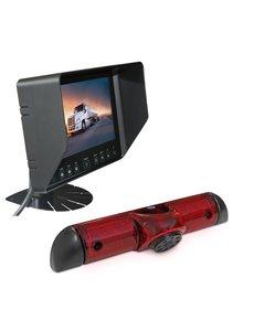 RVS-systemen Citroen Jumper (2006-heden) Remlichtcamera Monitor 7 inch RVB-720