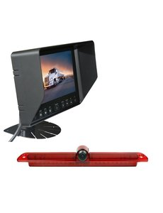 RVS-systemen VW Crafter Led (2007-heden) Remlichtcamera Monitor 7 inch RVB-720