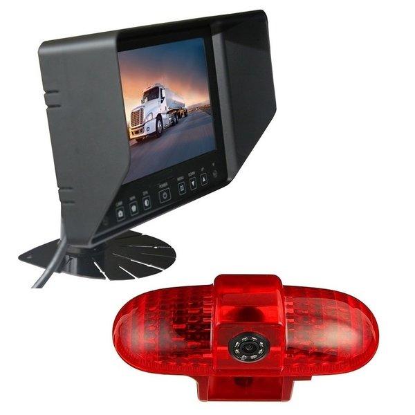 RVS-systemen Opel Combo  (2001 -2011) Remlichtcamera Monitor 7 inch RVB-720