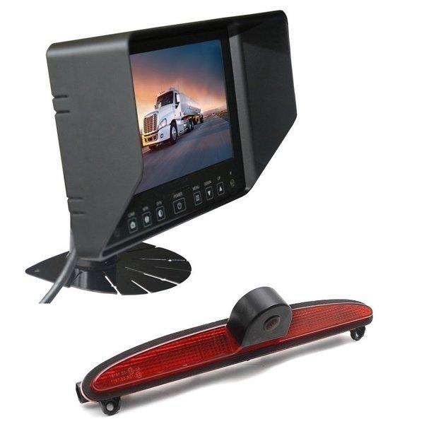 RVS-systemen IVECO Daily (2014 -2018) Remlichtcamera Achteruitrijcamera Monitor 7 inch RVB-720