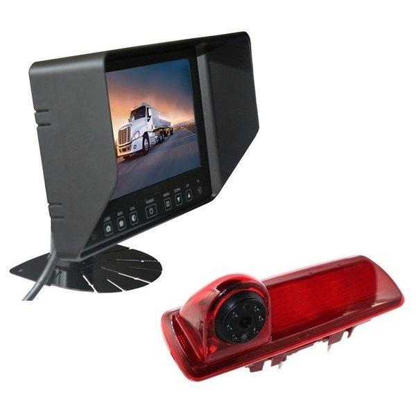 RVS-systemen Opel Vivaro (2014-heden) Remlichtcamera Monitor 7 inch RVB-720